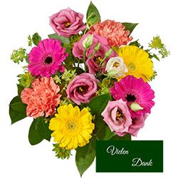 Bunter Blumenstrauß bestellen