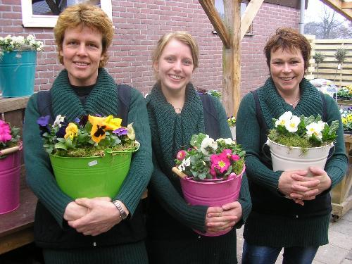 Tineke, Marijke en Allien