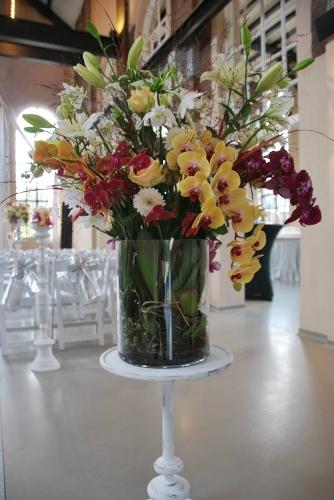 Huwelijk voorbeeld Winkelpand Bloemen Vink Voorthuizen