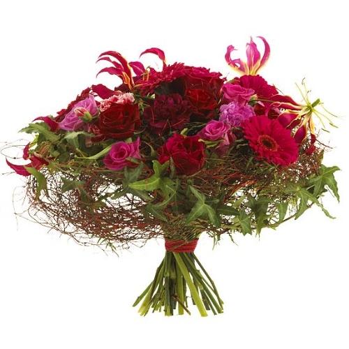 Bouquet rose rouge bouquet rose rouge commander et for Livrer une rose