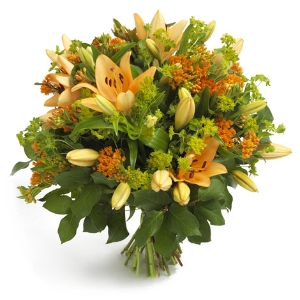 Beautiful lily bouquet