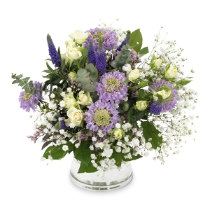 Purple and lilac bouquet