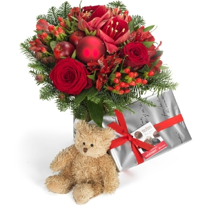 Giftset (+chocolate +teddy)