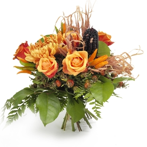 bright seasonal bouquet
