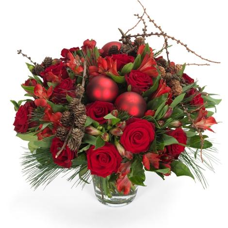 rote weihnacht rote weihnacht bestellen und liefern ber regionsflorist. Black Bedroom Furniture Sets. Home Design Ideas