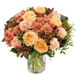 Soft Pink autumn bouquet