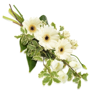 White Mourning Bouquet
