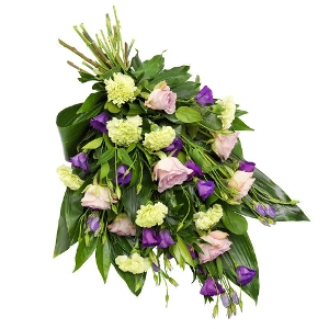 Lovely mourning bouquet