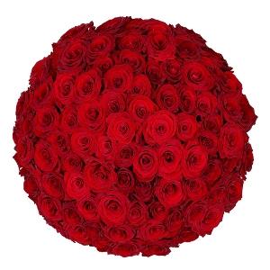 90 Rode Rozen   Bloemist