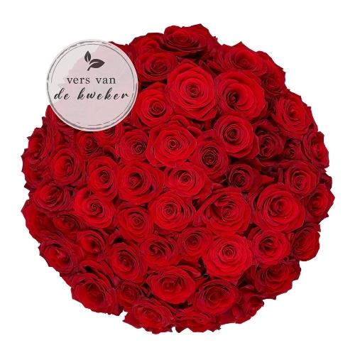 50x roses rouges Naomi